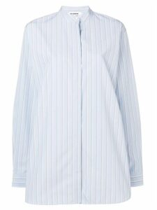 Jil Sander pinstriped shirt - Blue