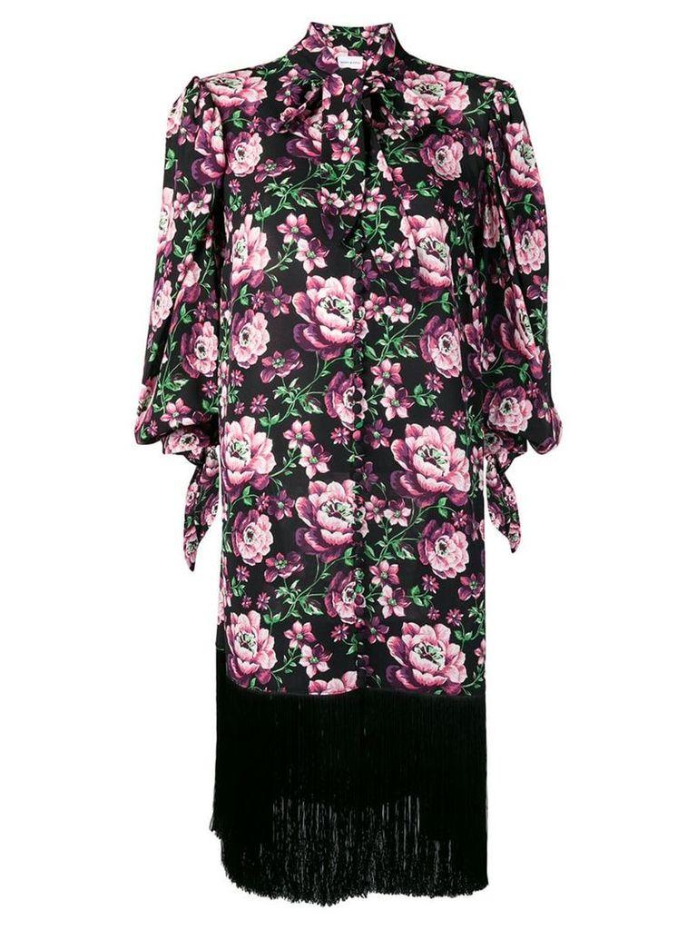 Magda Butrym fringe dress - Black