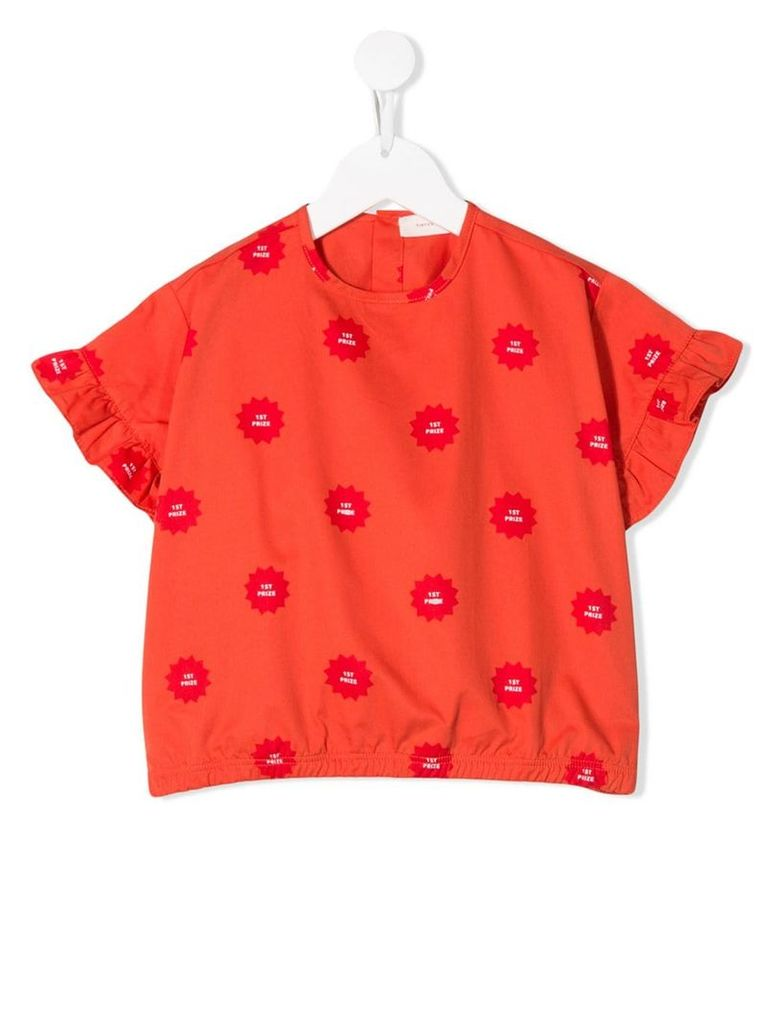 Tiny Cottons 1st prize T-shirt - Red