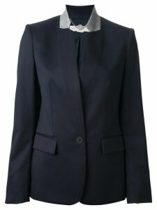 Stella McCartney contrast collar blazer - Blue