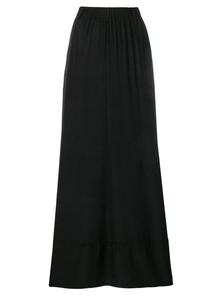 A.F.Vandevorst full pleated skirt - Black