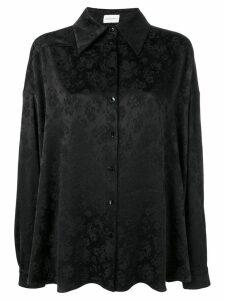 Magda Butrym floral shirt - Black