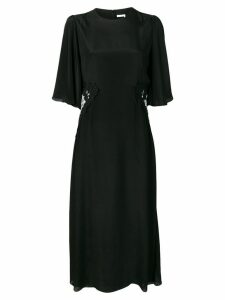 See By Chloé lace side panel midi dress - Black