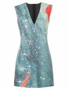 Pinko blue galaxy dress