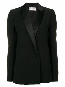 Lanvin shawl lapel blazer - Black