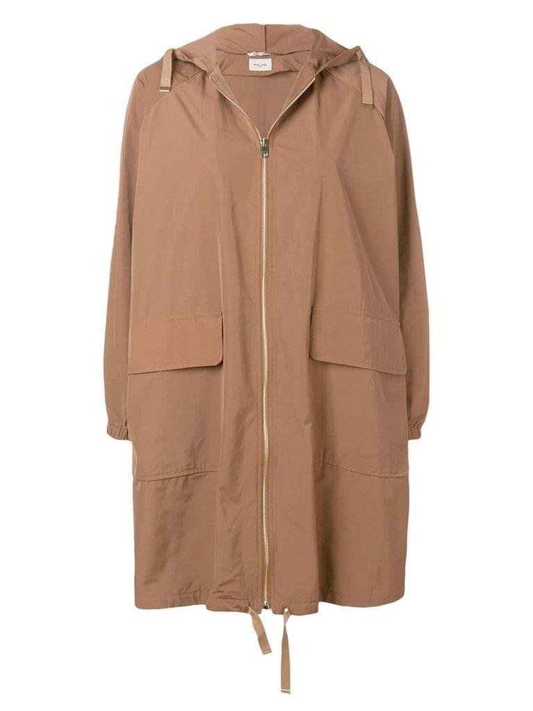 Paltò hooded coat - Neutrals