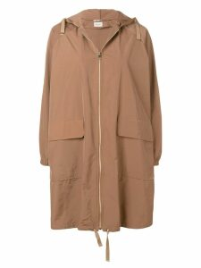 Paltò hooded coat - Neutrals