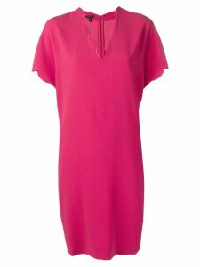 Escada scalloped edge dress - Pink