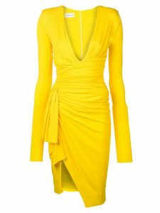 Alexandre Vauthier asymmetric dress - Yellow