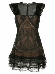 Jonathan Simkhai embroidered mini dress - Black