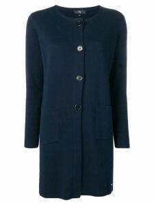 Fay navy cardi-coat - Blue