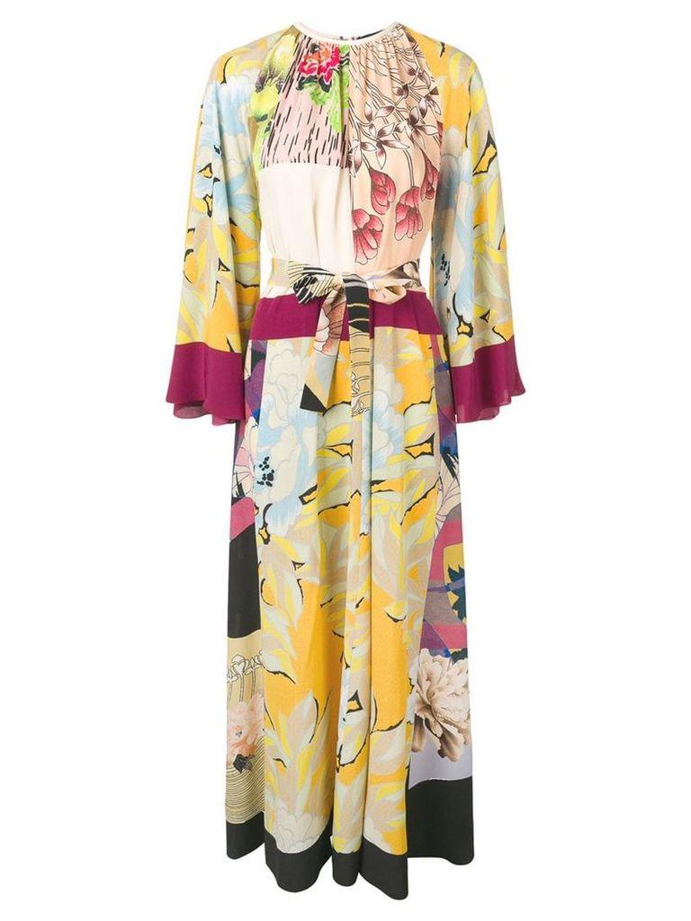 Etro printed maxi dress - Yellow