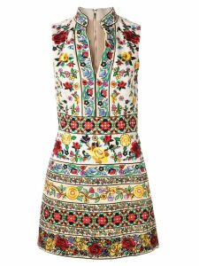 Alice+Olivia floral embroidered dress - Multicolour