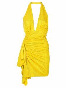 Alexandre Vauthier gem embellished dress - Yellow
