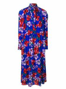 Magda Butrym floral day dress - Blue