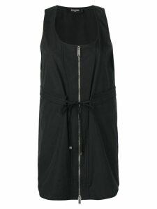 Dsquared2 zipped mini dress - Black