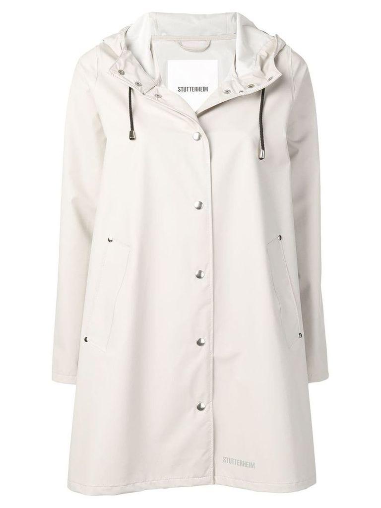 Stutterheim Mosebacke raincoat - Neutrals