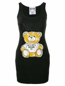 Moschino Teddy tank dress - Black