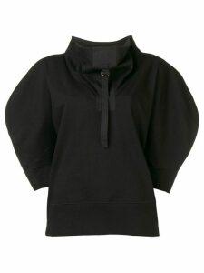 Bottega Veneta oversized short-sleeve sweater - Black