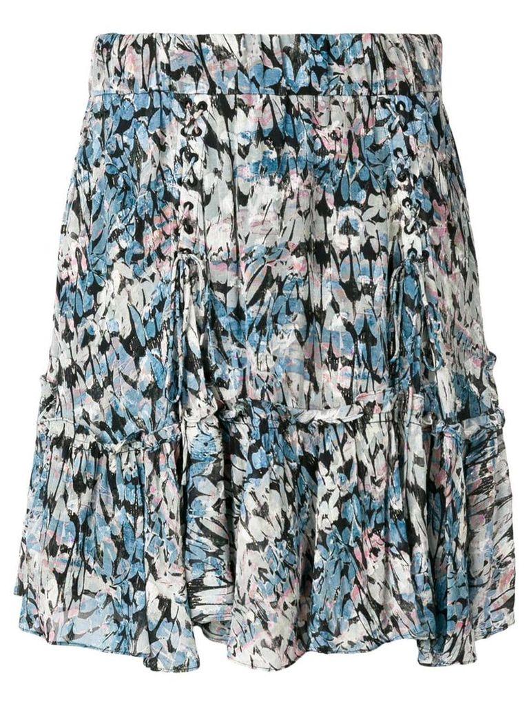 Iro Arny floral skirt - Blue