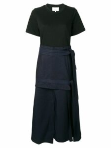 3.1 Phillip Lim tie front midi dress - Blue
