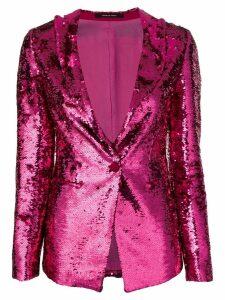 Tagliatore Gilda sequin blazer - Pink