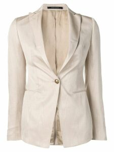 Tagliatore fitted blazer - Neutrals
