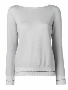 Fabiana Filippi cashmere knit sweater - Grey