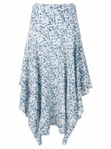 Stella McCartney flower print skirt - Blue