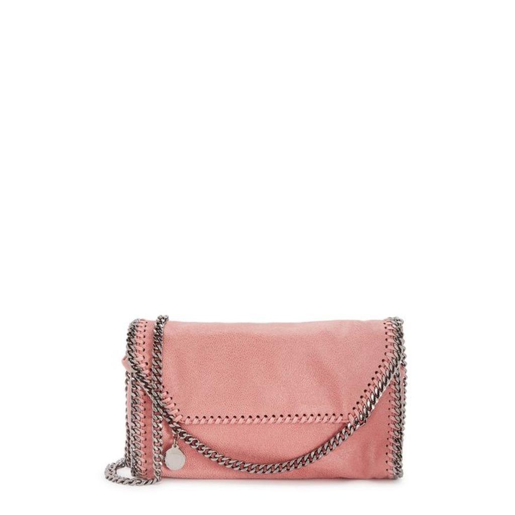 Stella McCartney Falabella Mini Faux Suede Shoulder Bag