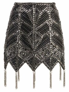 Attico beaded skirt - Black