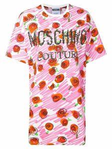 Moschino floral print dress - PINK