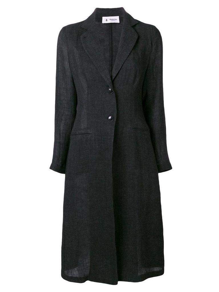 Barena single-breasted coat - Black
