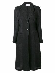 Barena single-breasted coat - Black