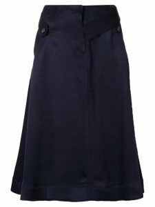Palmer / Harding distorted skirt - Blue
