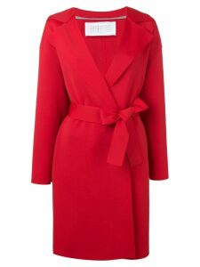 Harris Wharf London double-breasted trench coat - Red