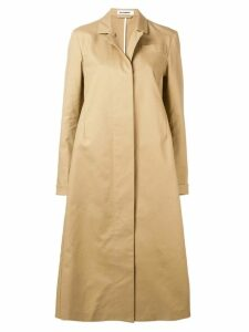 Jil Sander long trench coat - Neutrals