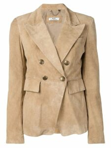 Desa Collection double breasted blazer - Neutrals