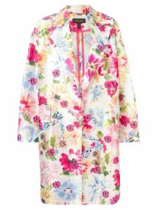 Escada lightweight floral coat - White