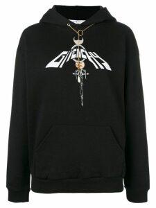 Givenchy Dagger Chain hoodie - Black