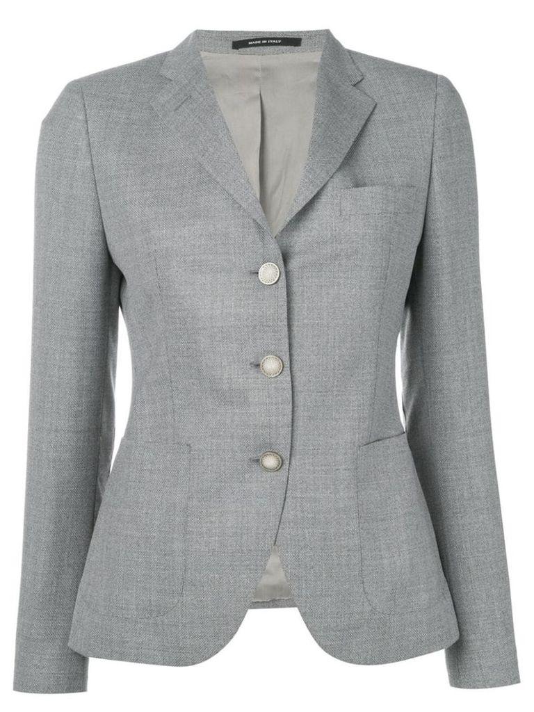 Tagliatore single-breasted blazer - Grey
