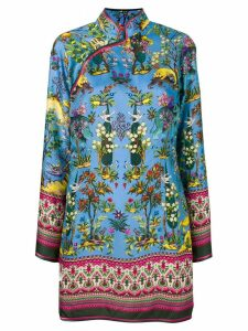 F.R.S For Restless Sleepers jungle print blouse - Blue