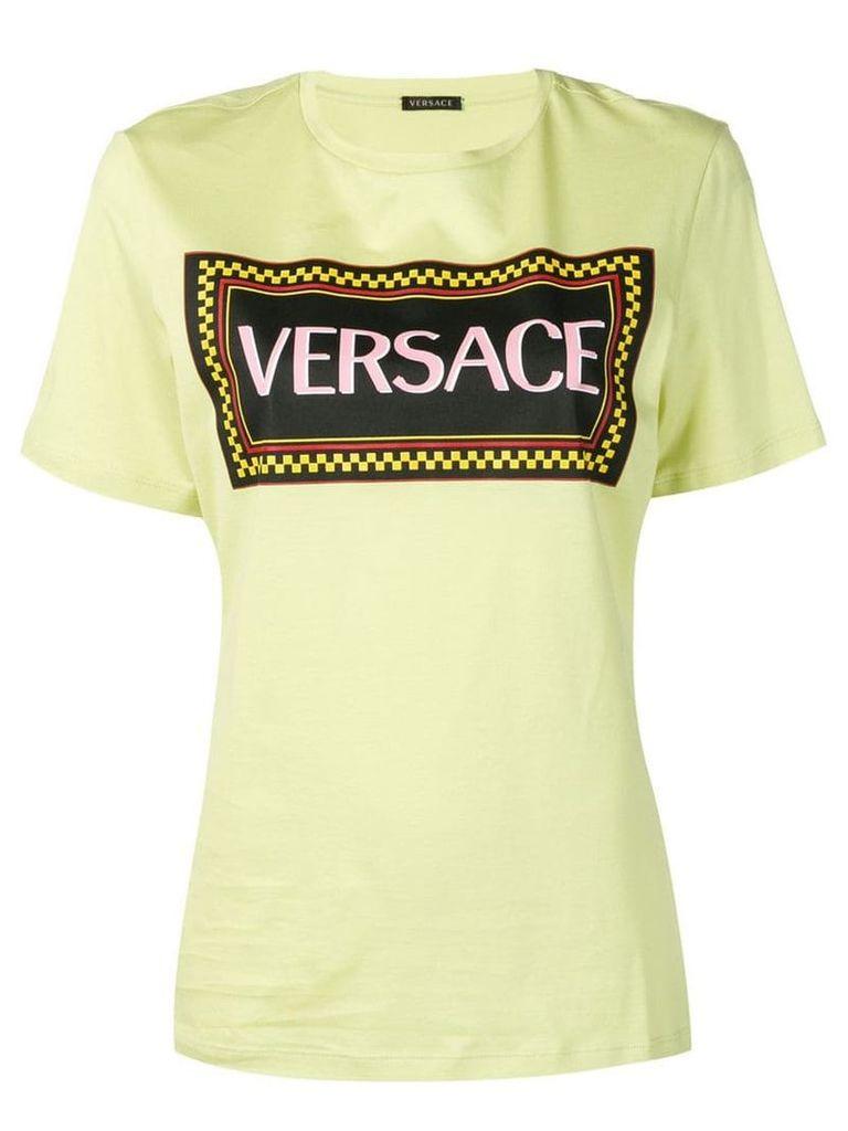Versace 90's vintage logo print T-shirt - Green
