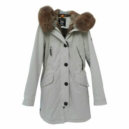 Beige Cotton Coat