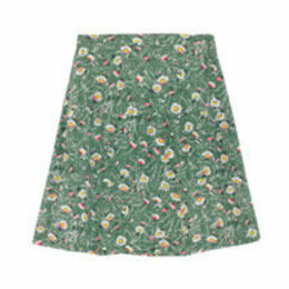 Wild Daisies Tiered Skirt