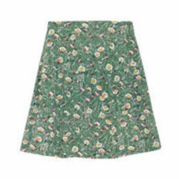 Wild Daisies Tiered Skirt