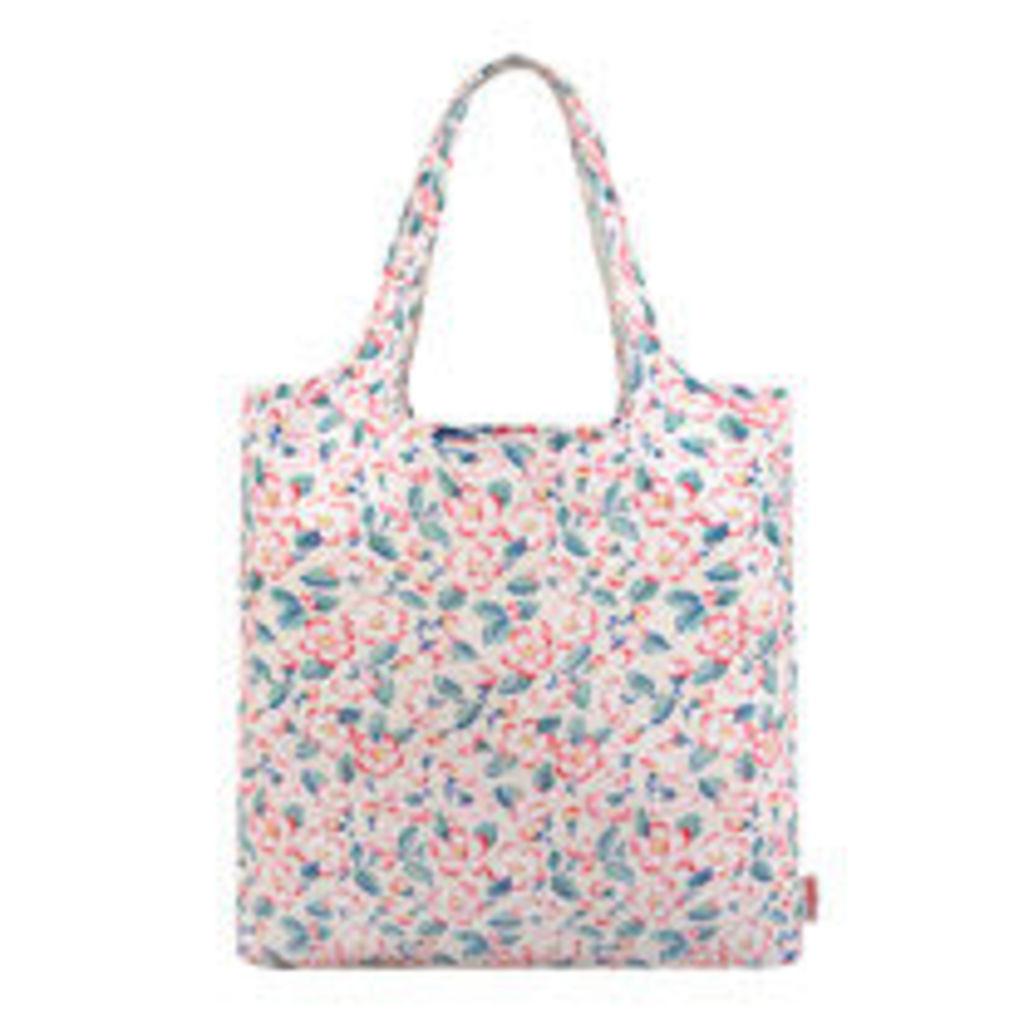 Climbing Blossom Foldaway Shopper