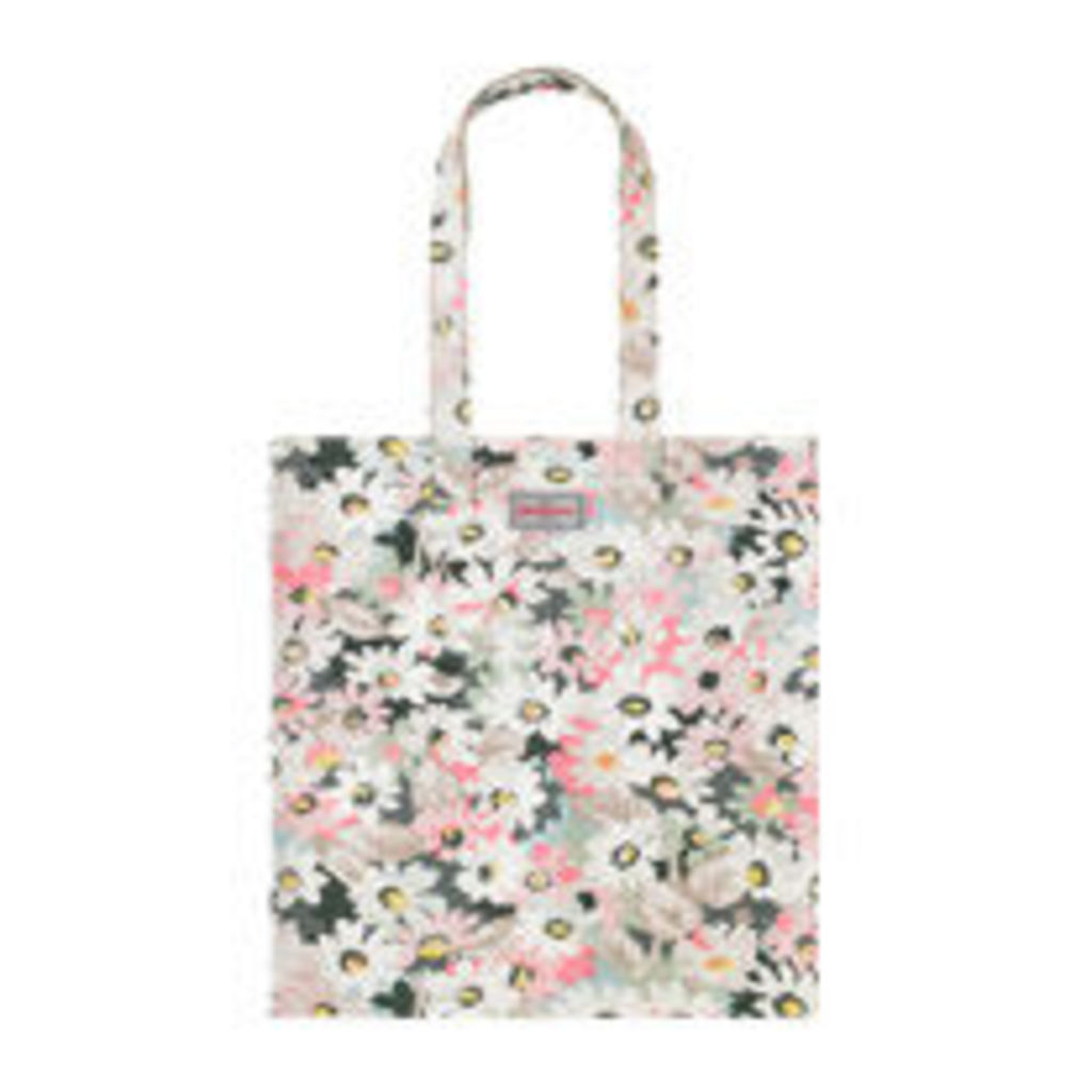 Painted Daisy Cotton Bookbag