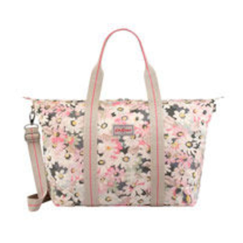 Painted Daisy Foldaway Overnight Bag