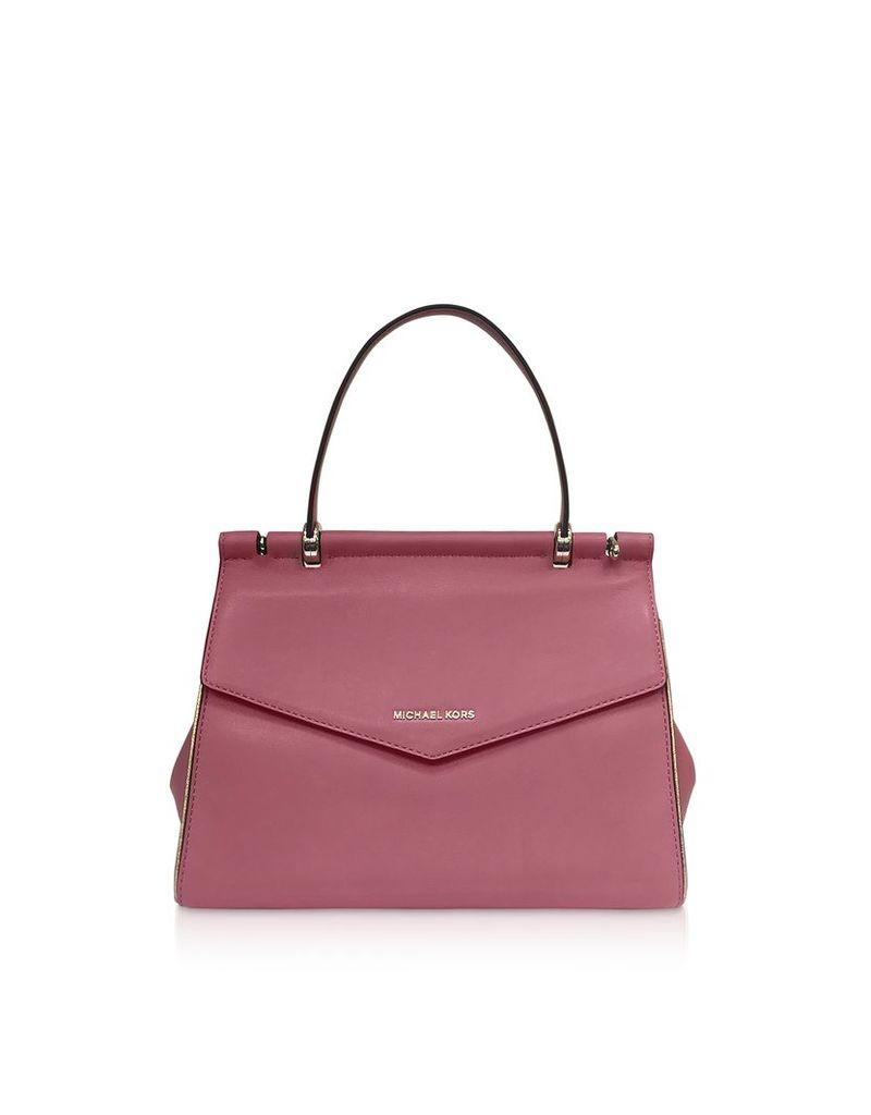 Michael Kors Designer Handbags, Rose Jasmine Medium Top-Handle Satchel Bag